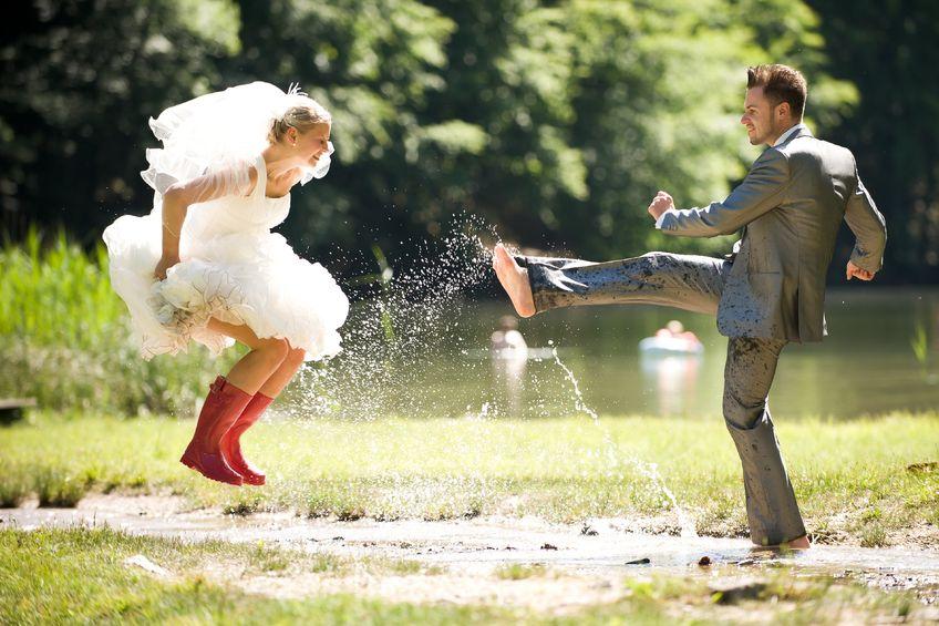 Trash the Dress-Eine tolle Hochzeitsfotografie